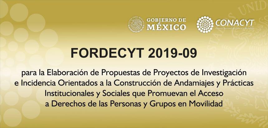 RECEPCIÓN DE PROPUESTAS: HASTA EL 31 DE ENERO DE 2020 A LAS 18:00 HORAS