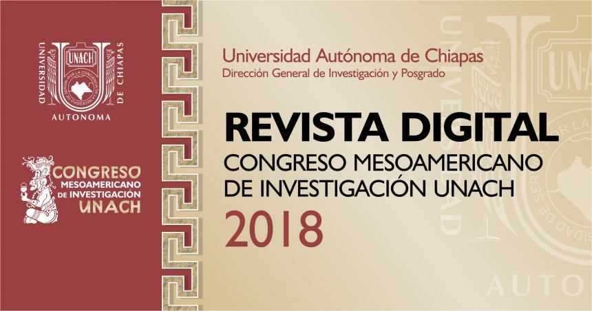 REVISTA DIGITAL CONGRESO MESOAMERICANO 2018