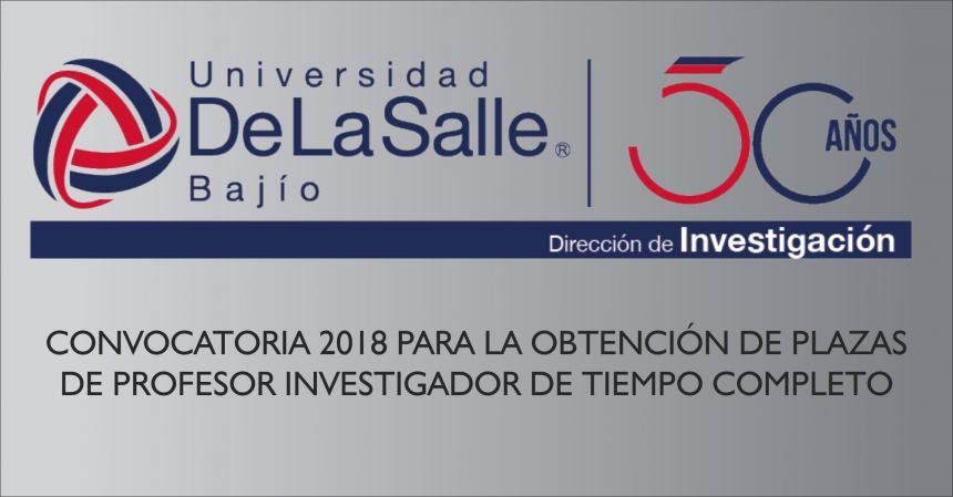 CIERRE DE CONVOCATORIA 11 DE MAYO DE 2018
